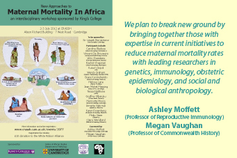 Ashley Moffett: New Approaches to Maternal Mortality In Africa's image