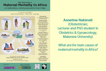 Annettee Nakimuli: New Approaches to Maternal Mortality In Africa's image