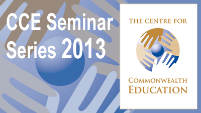 Centre for Commonwealth Education: Seminars's image