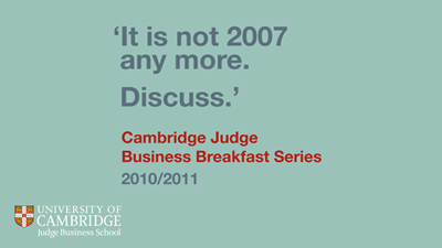 Cambridge Judge Business Briefings's image