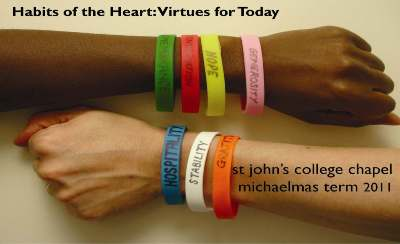 M11 - Habits of the Heart: Virtues for Today's image