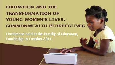 Education and the transformation of young women's lives: Commonwealth perspectives's image