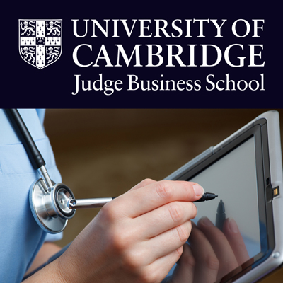 Cambridge Judge Business School Discussions on Health Management's image