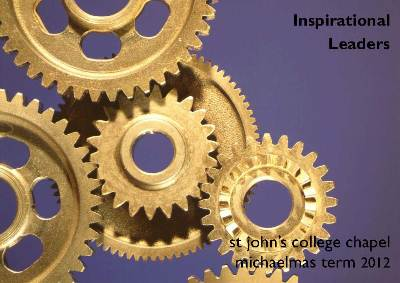 M12 - Inspirational Leaders's image