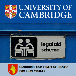 Cambridge University Students' Pro Bono Society Lectures's image